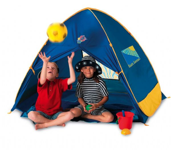 Junior 50+ UV / UPF Protection Pop Up Beach Garden Tent Play Shade Sun Shelter